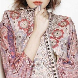 Isabel Marant Rare Jungle Embroidered Vest